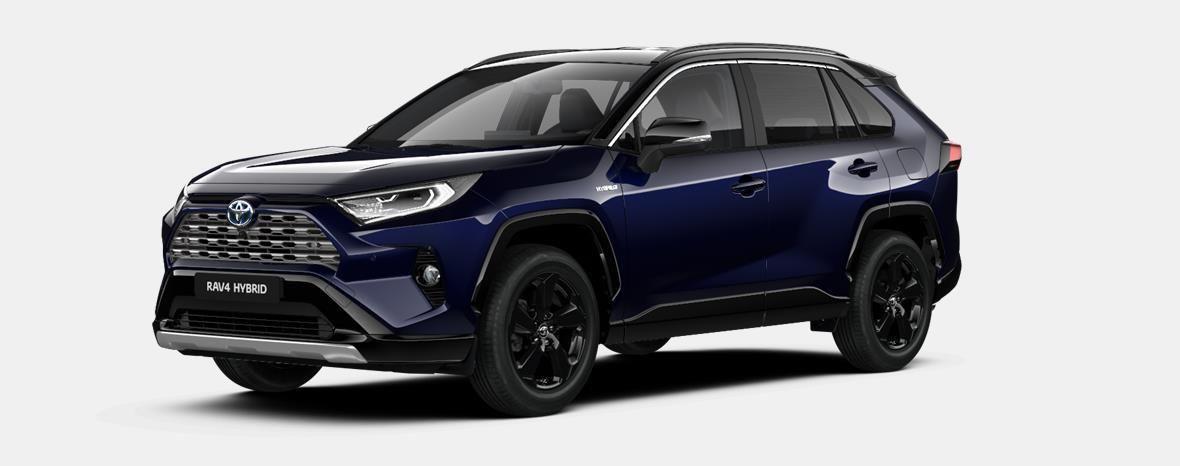 Nieuw Toyota Rav4 5 d. 2.5 Hybrid 2WD e-CVT Style Plus LHD 2RA - Dark Blue / BI-TONE 1