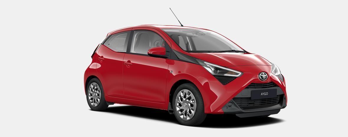 Nieuw Toyota Aygo 5 d. 1.0 VVT-i 5MT x-play2 LHD 3P0 - SUPER RED V 4