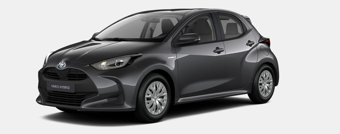 Nieuw Toyota Yaris 5 d. 1.5 Hybrid e-CVT Dynamic LHD 1G3 - DARK GREY METALLIC 1