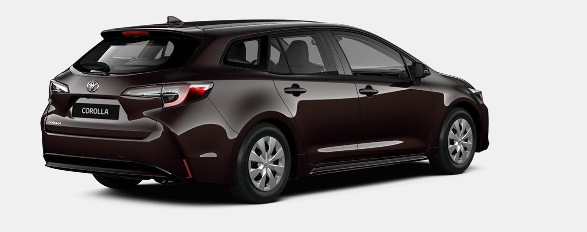 Nieuw Toyota Corolla hb & ts Touring Sports 1.8 e-CVT Hybrid CVT Dyna 4W9 - PHANTOM BROWN METALLIC 3