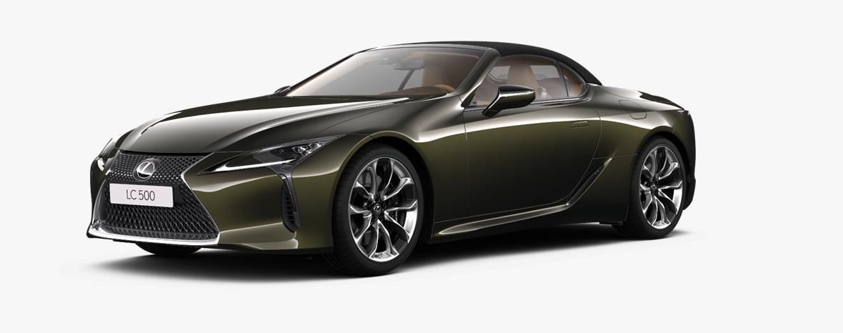 Demo Lexus Lc Convertible 5.0L petrol AT Base LHD 6X4 - Terrane Khaki 1