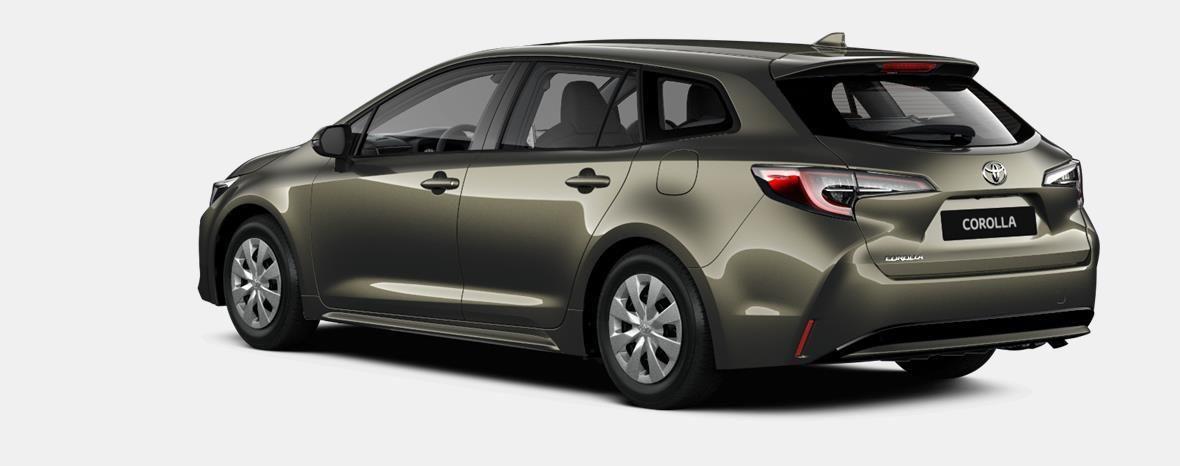 Nieuw Toyota Corolla hb & ts Touring Sports 2.0 e-CVT Hybrid CVT Prem 6X1 - OXIDE BRONZE METALLIC 4