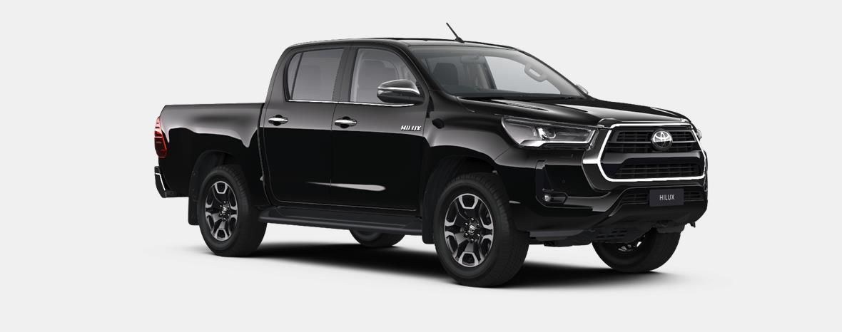 Nieuw Toyota Hilux 4x4 Double Cab 2.8 204hp 6AT Invincible LHD 218 - BLACK MICA 4