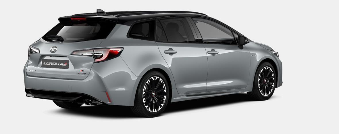Nieuw Toyota Corolla hb & ts Touring Sports 2.0 Hybrid CVT Style LHD 1J6 - PRECIOUS SILVER METALLIC 3