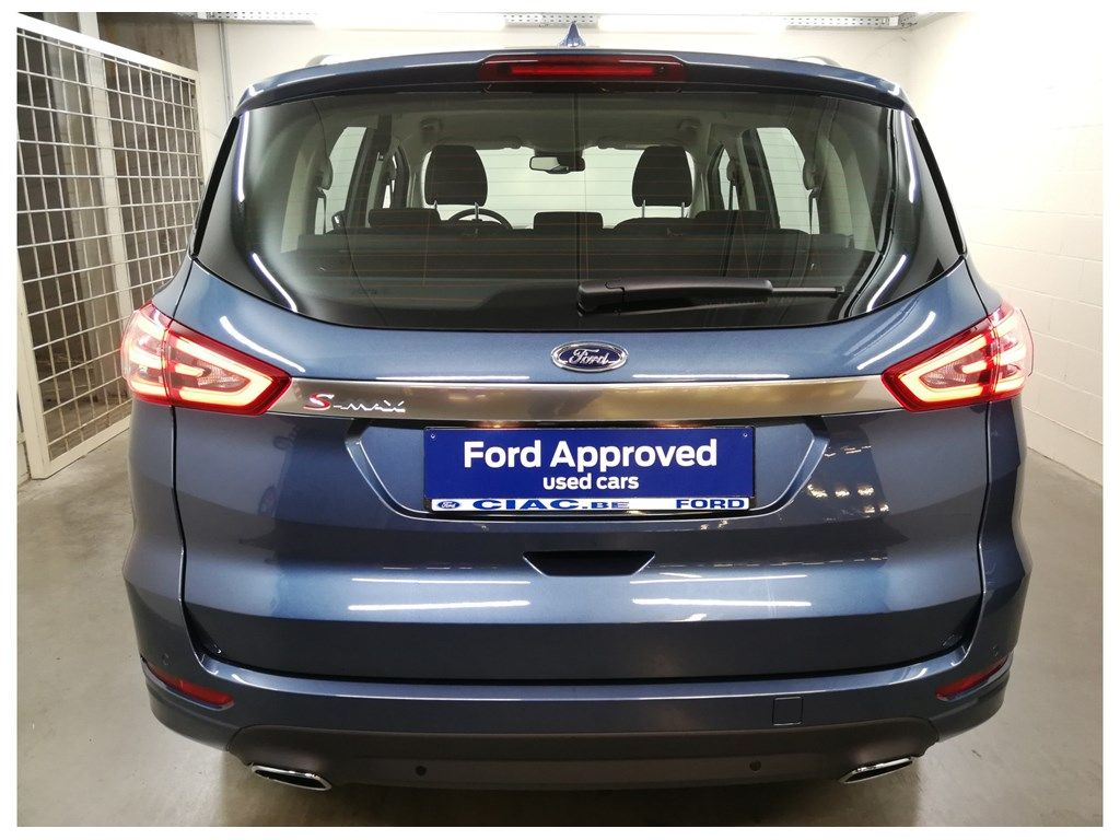 "Demo Ford S-max Titanium 2.0 TDCi 190pk / 139kW A8 5d 9IG - ""Chrome Blue"" metaalkleur 8"