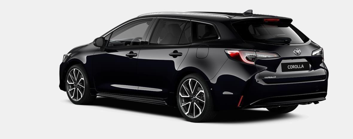 Nieuw Toyota Corolla hb & ts Touring Sports 1.8 e-CVT Hybrid CVT Prem 209 - BLACK MICA 3
