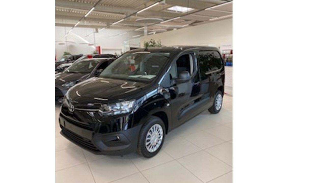 Nieuw Toyota Proace city Panel Van SWB 1.2L Petrol MT Comfort LHD EXY - BLACK 1