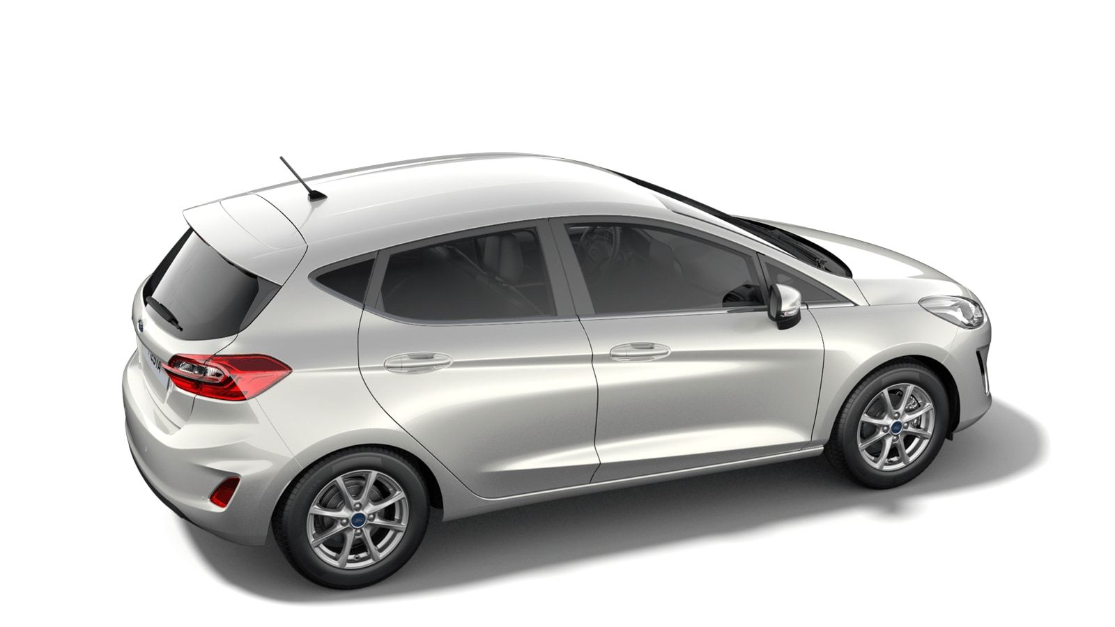 "Nieuw Ford All-new ford fiesta Connected 1.0i EcoBoost 95pk / 70kW M6 - 5d JKV - Speciale metaalkleur ""Metropolis White"" 2"