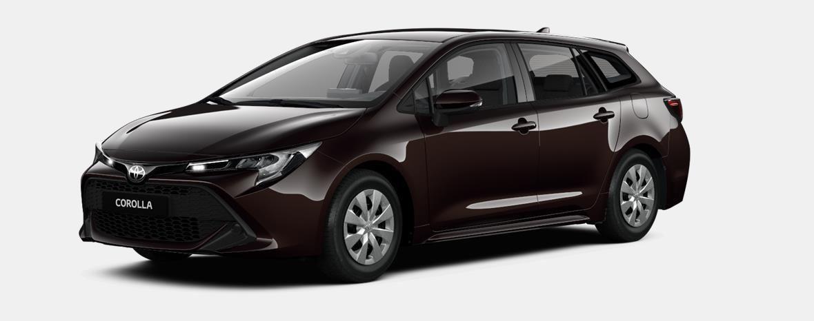 Nieuw Toyota Corolla hb & ts Touring Sports 1.8 e-CVT Hybrid CVT Dyna 4W9 - PHANTOM BROWN METALLIC 1