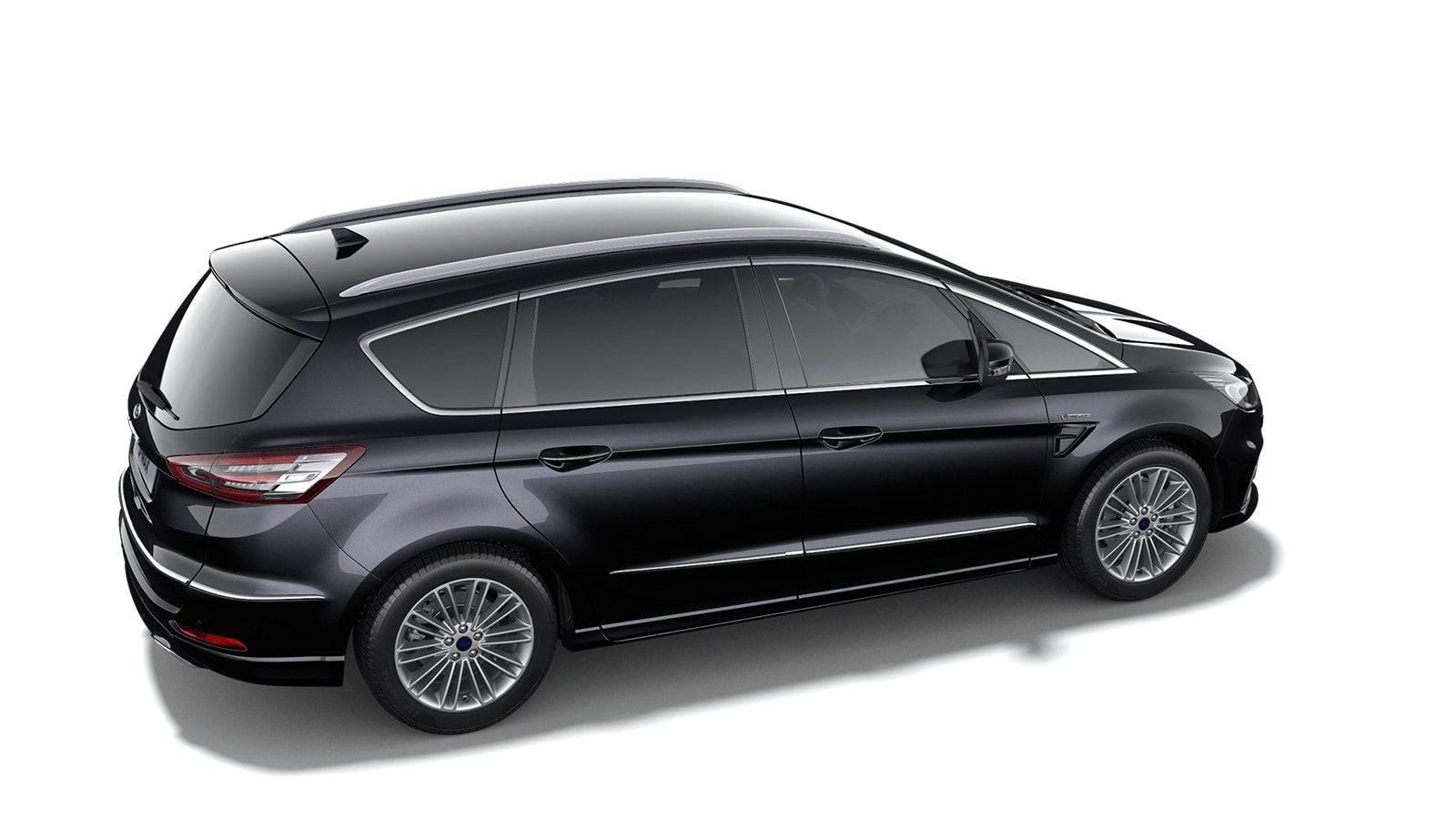 """Demo Ford S-max Vignale 2.5i HEV 190pk / 140kW HF45aut - 5d 9I6 - """"Agate Black Vignale"""" metaalkleur 3"""