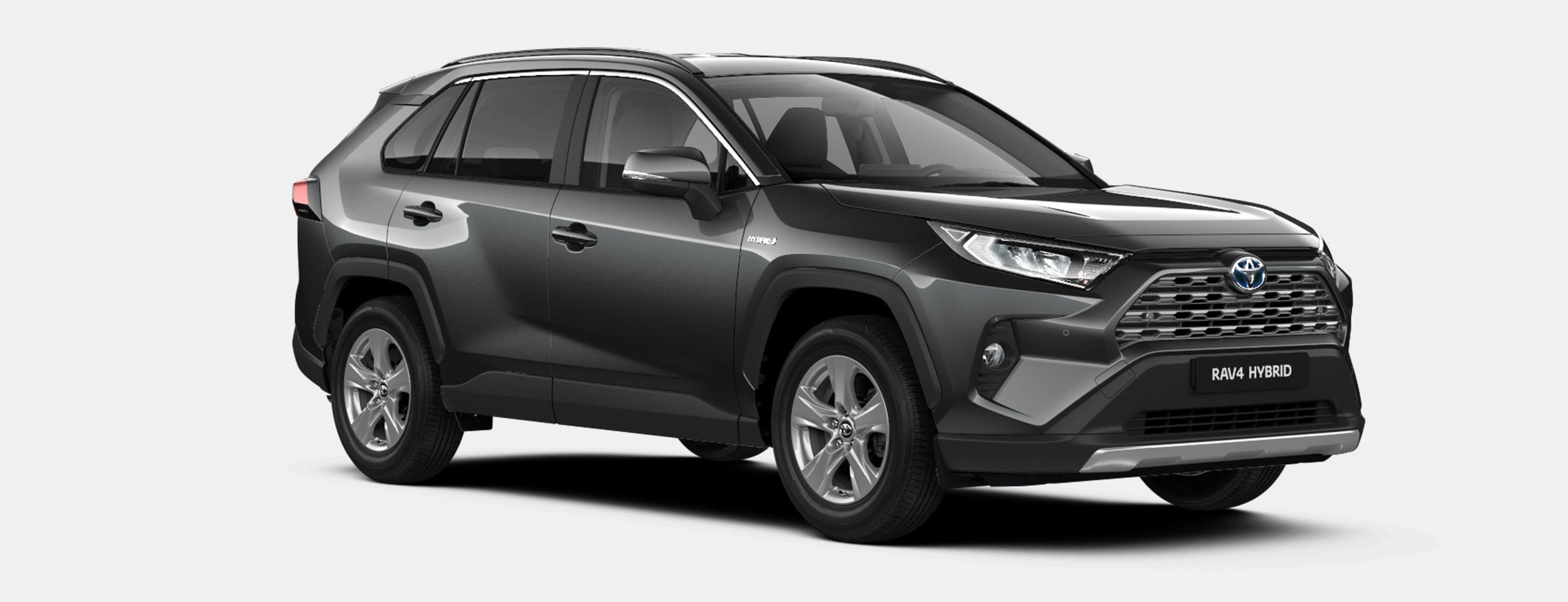 Nieuw Toyota Rav4 5 d. 2.5 Hybrid 2WD e-CVT Premium Plus L 1G3 - DARK GREY METALLIC 3