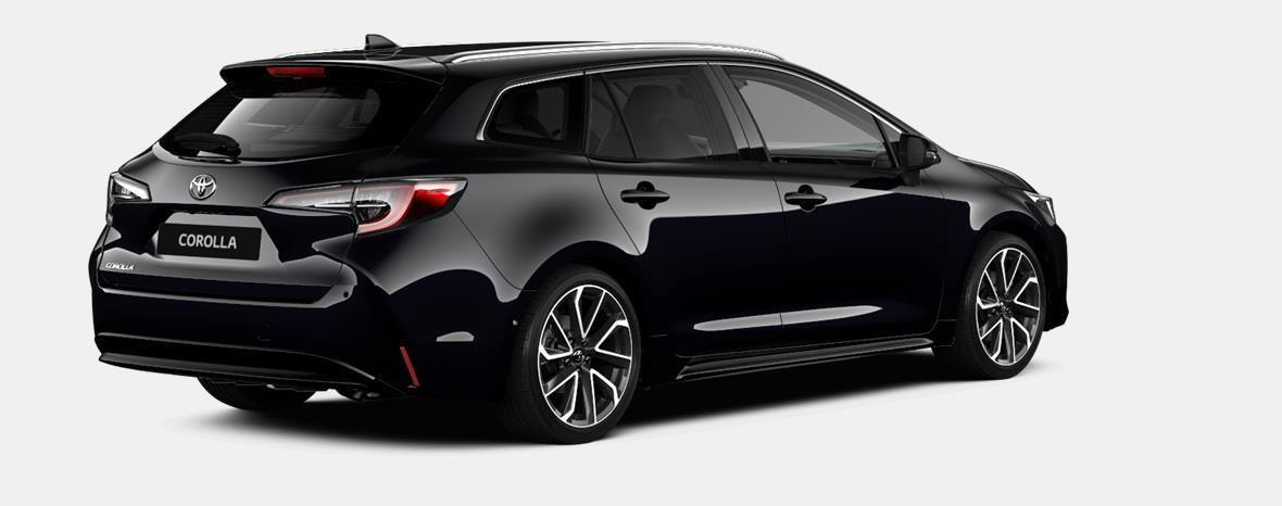 Nieuw Toyota Corolla hb & ts Touring Sports 1.8 e-CVT Hybrid CVT Prem 209 - BLACK MICA 4