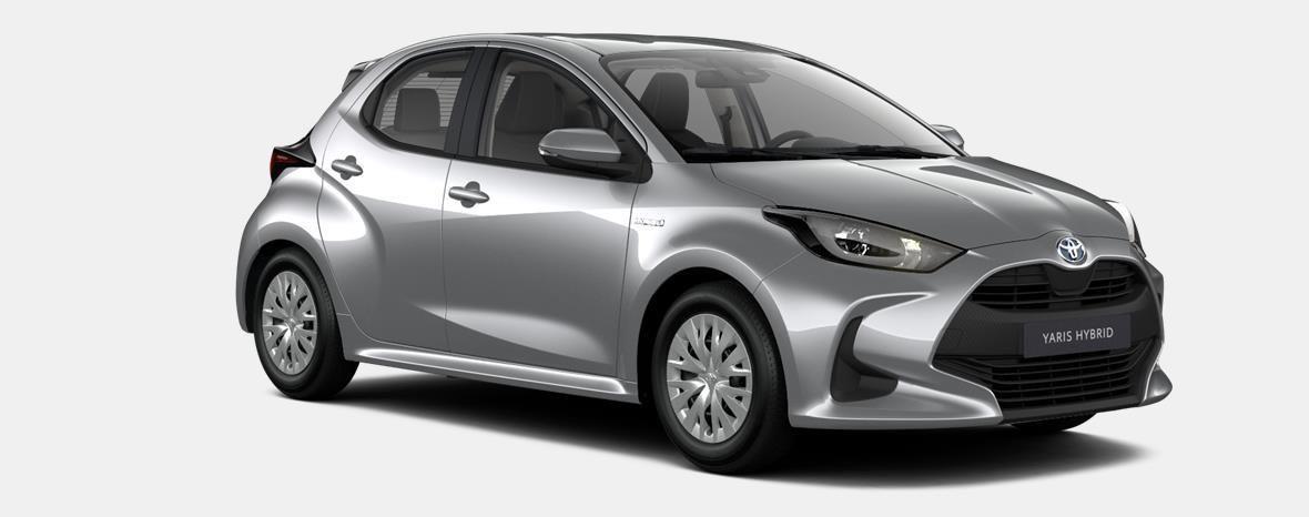 Nieuw Toyota Yaris 5 d. 1.5 Hybrid e-CVT Dynamic LHD 1F7 - ULTRA SILVER METALLIC 4