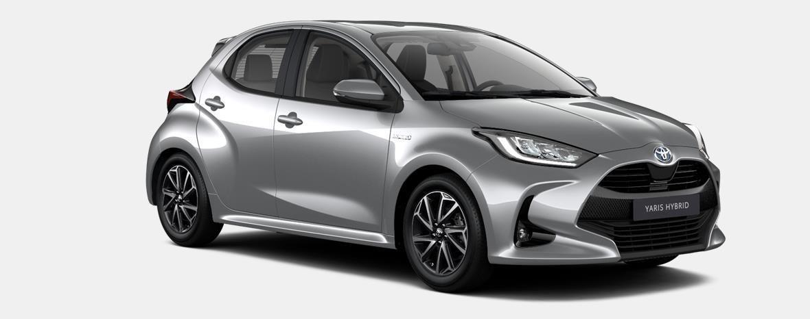 Nieuw Toyota Yaris 5 d. 1.5 VVT-iE 6MT Dynamic LHD 1F7 - ULTRA SILVER METALLIC 2
