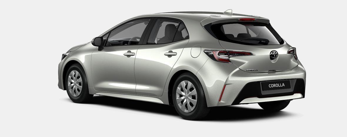Nieuw Toyota Corolla hb & ts Hatchback 1.2 Turbo petrol 6 MT Dynamic 1J6 - PRECIOUS SILVER METALLIC 3