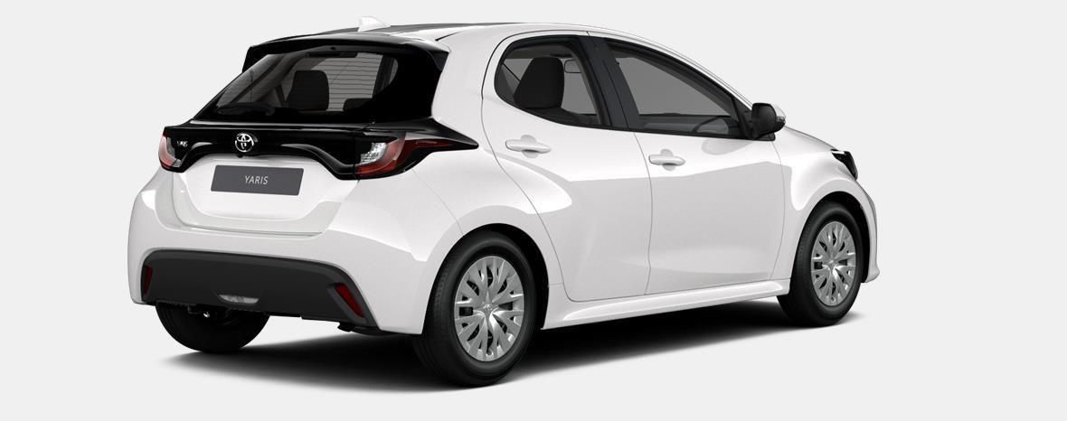 Nieuw Toyota Yaris 5 d. 1.5 Hybrid e-CVT Dynamic LHD 040 - SUPER WHITE II 3