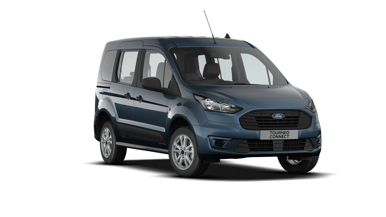 "Nieuw Ford Tourneo connect v408 Tourneo - Trend - 1.5 Duratorq TDCi 120ps / 88kW (270Nm) A8 US5 - Niet-metaalkleur ""Frozen White"" 4"