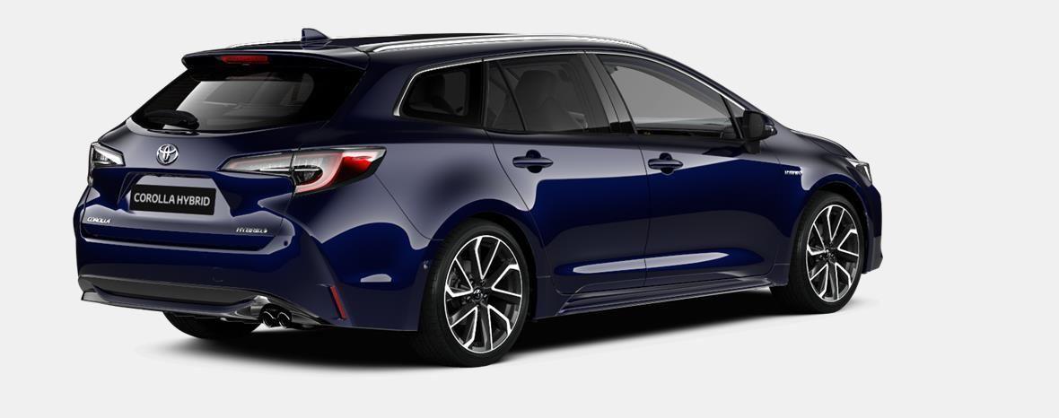 Demo Toyota Corolla hb & ts Touring Sports 1.8 e-CVT Hybrid CVT Prem 8X8 - DARK BLUE METALLIC 3