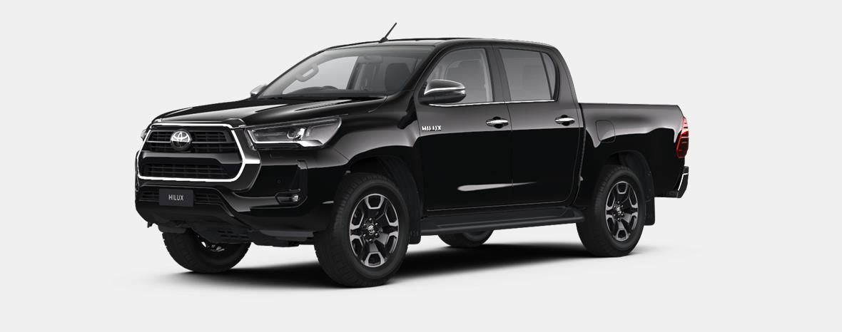 Nieuw Toyota Hilux 4x4 Double Cab 2.8 204hp 6AT Invincible LHD 218 - BLACK MICA 1