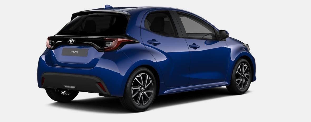 Nieuw Toyota Yaris 5 d. 1.5 VVT-iE 6MT Iconic LHD 8W7 - COBALT BLUE METALLIC 4