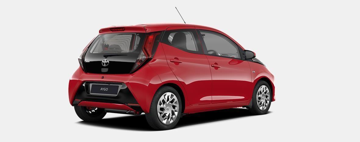 Nieuw Toyota Aygo 5 d. 1.0 VVT-i 5MT x-play2 LHD 3P0 - SUPER RED V 3