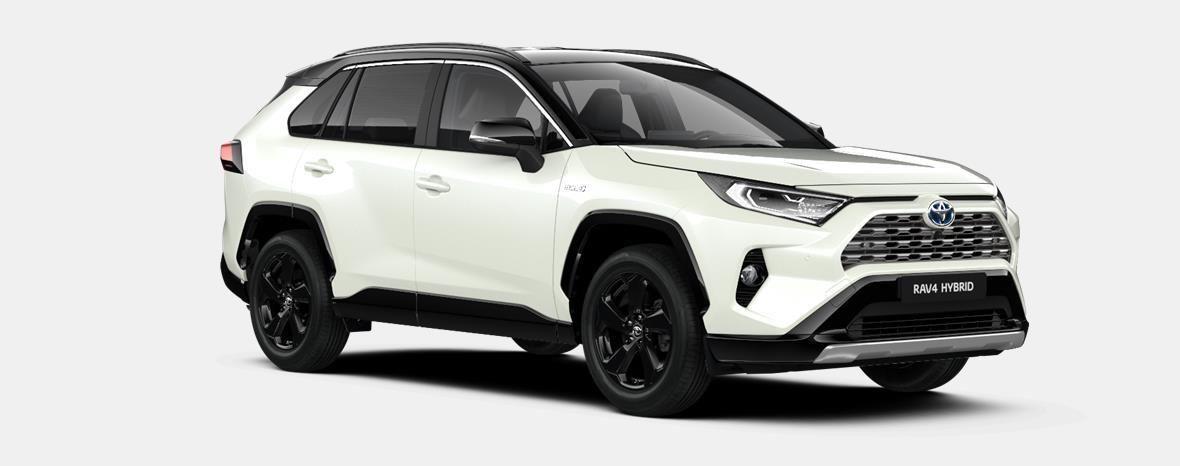 Nieuw Toyota Rav4 5 d. 2.5 Hybrid 2WD e-CVT Style Plus LHD 2QJ - WHITE PEARL / BI-TONE 4