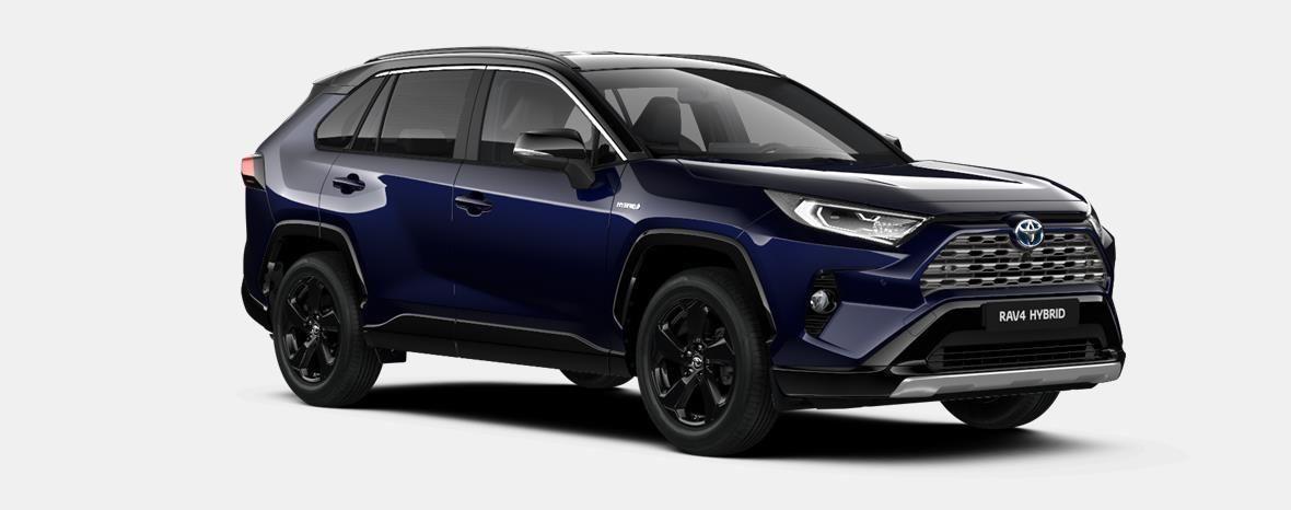 Nieuw Toyota Rav4 5 d. 2.5 Hybrid 2WD e-CVT Style Plus LHD 2RA - Dark Blue / BI-TONE 4