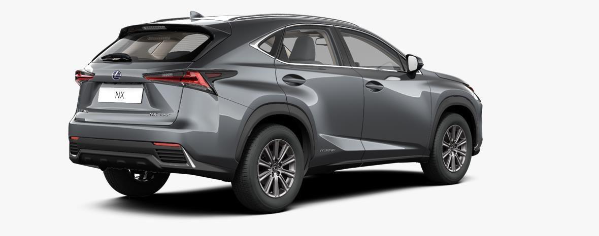 Nieuw Lexus Nx Crossover 300h AWD - E-CVT Business Line 1H9 - Mercury Grey 4