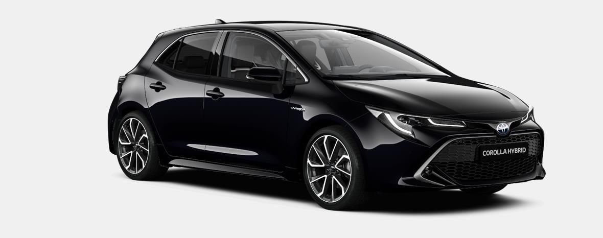 Nieuw Toyota Corolla hb & ts Hatchback 1.8 e-CVT Hybrid CVT Dynamic L 209 - BLACK MICA 2