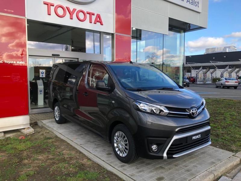 Nieuw Toyota Proace Double Cab LONG 2.0L Diesel 120hp AT Com EVL - DARK GRAY METALLIC 5