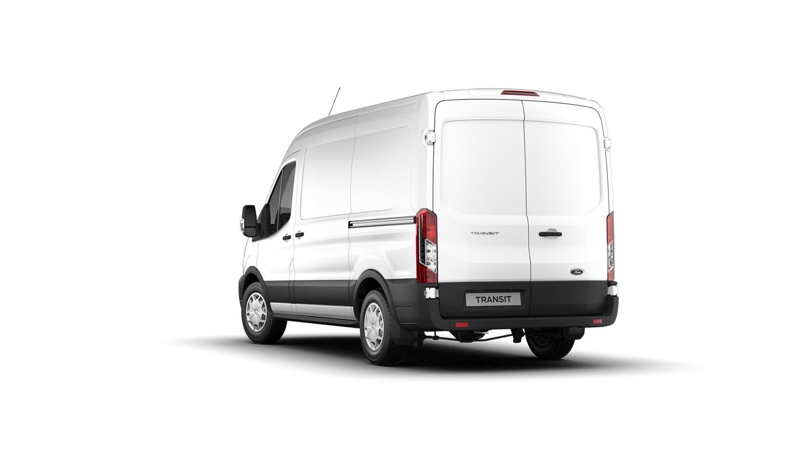 Nieuw Ford Transit 2t mca 350E Chassis enkele cabine L4 Trend/zonder laadbak M6 2.0 TD AXW - niet-metaalkleur: Frozen White 3