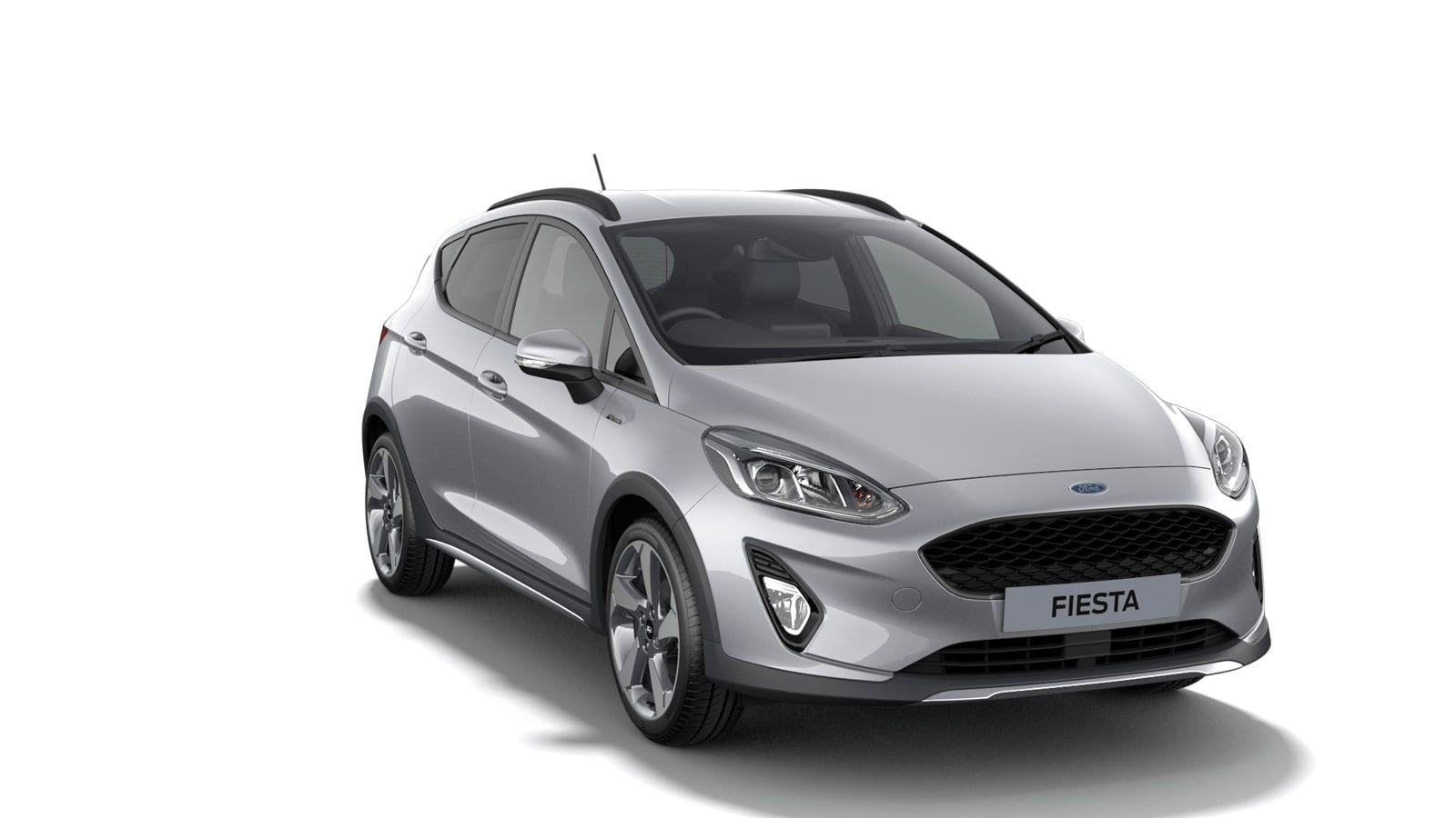 "Nieuw Ford All-new ford fiesta Active 1.0i EcoBoost mHEV 125ps / 92kW M6 - 5d JK6 - Metaalkleur ""Moondust Silver"" 2"