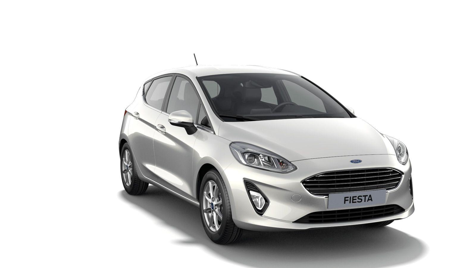 "Nieuw Ford All-new ford fiesta Connected 1.0i EcoBoost 95pk / 70kW M6 - 5d JKV - Speciale metaalkleur ""Metropolis White"" 3"