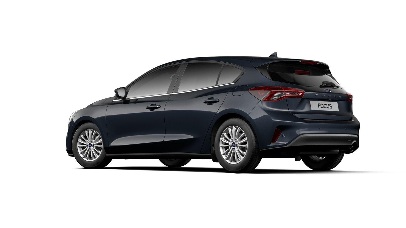 "Nieuw Ford Focus Tit X 1.0 EcoBoost 125pk A8 CL FCD - ""Panther Blue"" Exclusieve metaalkleur 4"