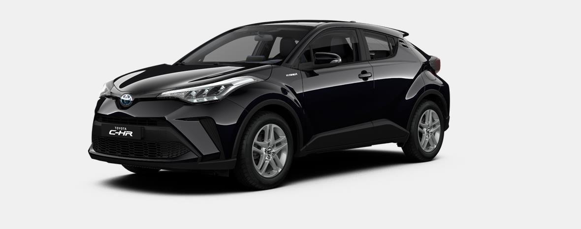 Nieuw Toyota Toyota c-hr 5 d. 1.8L Hybrid CVT C-ENTER LHD 209 - BLACK MICA 1