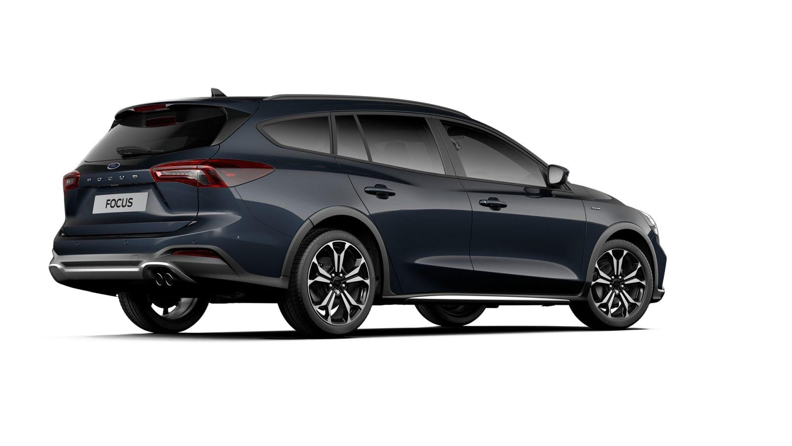 "Nieuw Ford Focus Active X 1.5 EcoBlue 120pk / 88kW A8 - 5d FCD - ""Panther Blue"" Exclusieve metaalkleur 2"
