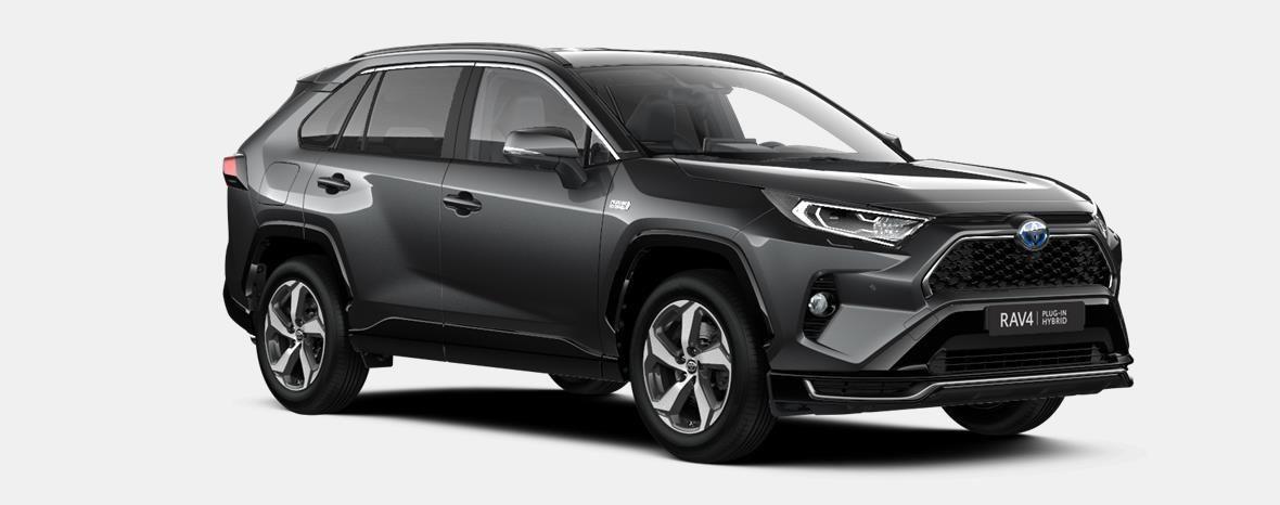 Nieuw Toyota Rav4 plug-in SUV LWB Plug-in CVT Premium Plus LHD 1G3 - DARK GREY METALLIC 4