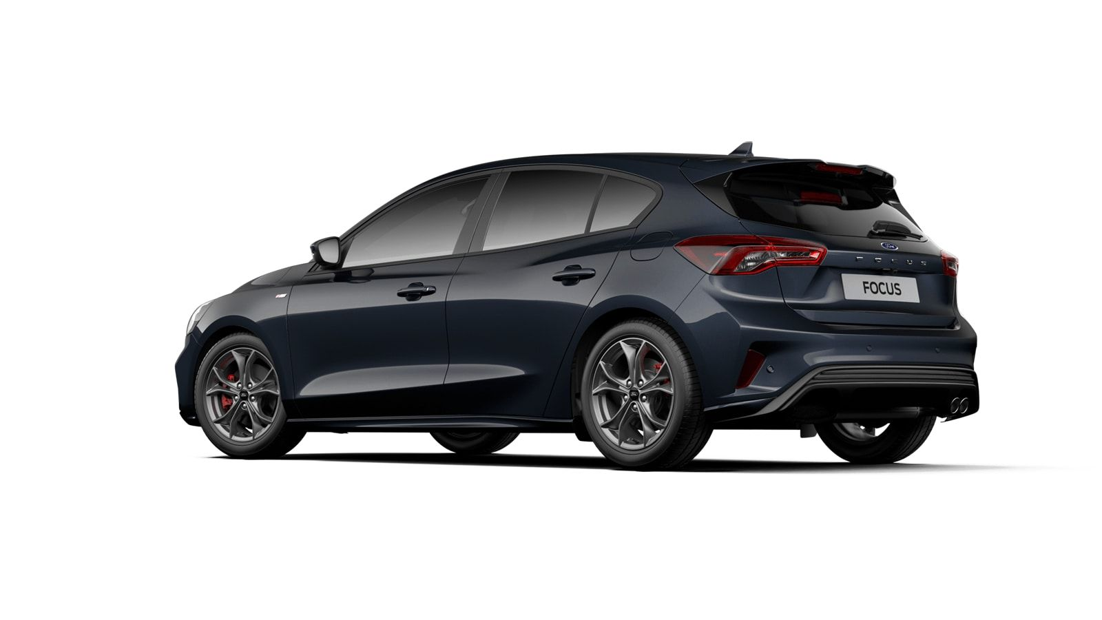 """Nieuw Ford Focus ST-Line X 1.0 EcoBoost 125ps A8 CL FCD - """"Panther Blue"""" Exclusieve metaalkleur 4"""