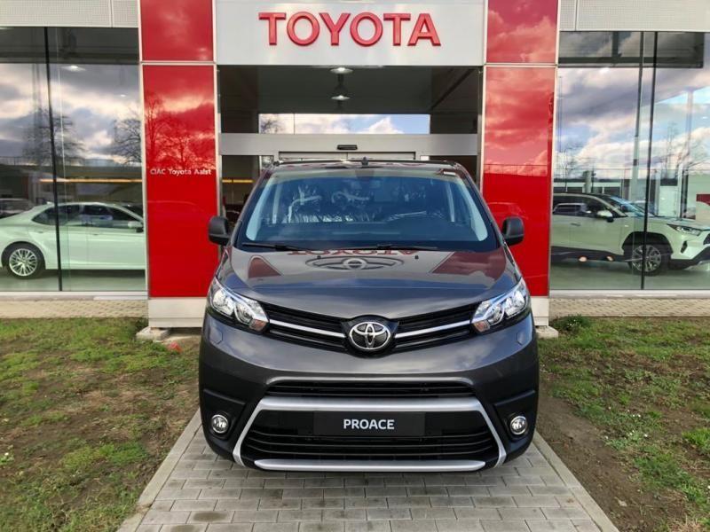 Nieuw Toyota Proace Double Cab LONG 2.0L Diesel 120hp AT Com EVL - DARK GRAY METALLIC 4