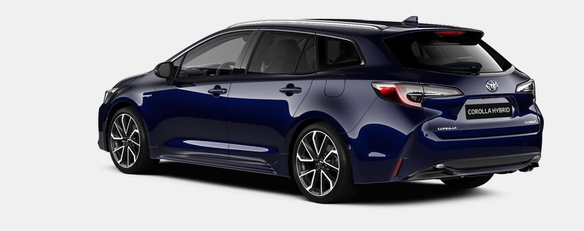Demo Toyota Corolla hb & ts Touring Sports 1.8 e-CVT Hybrid CVT Prem 8X8 - DARK BLUE METALLIC 2