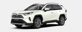 Nieuw Toyota Rav4 5 d. 2.5 Hybrid 2WD e-CVT Premium Plus L 070 - WHITE PEARL