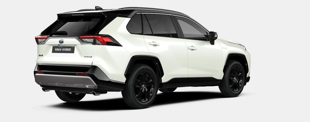 Nieuw Toyota Rav4 5 d. 2.5 Hybrid 2WD e-CVT Style Plus LHD 2QJ - WHITE PEARL / BI-TONE 3