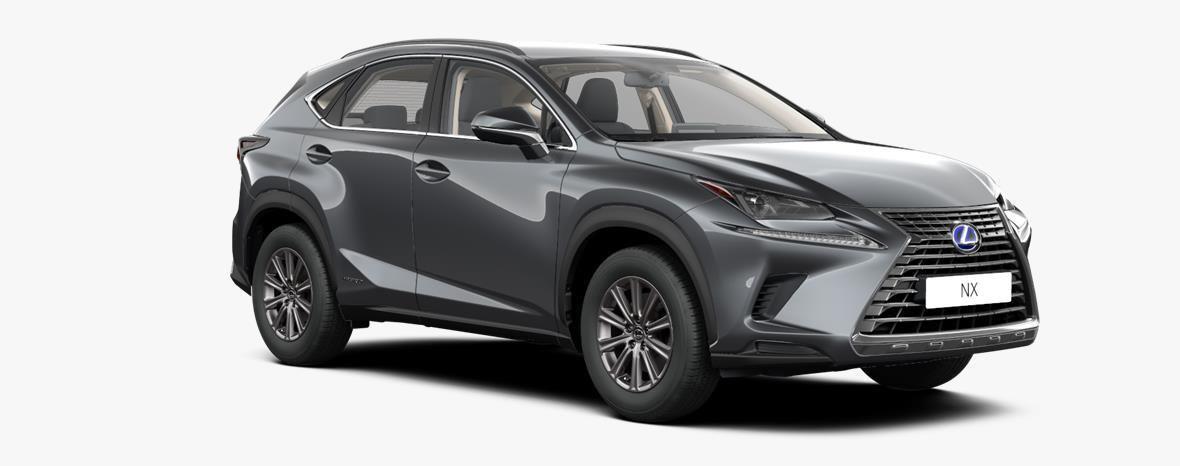 Nieuw Lexus Nx Crossover 300h AWD - E-CVT Business Line 1H9 - Mercury Grey 2