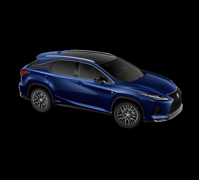 Nieuw Lexus Rx SUV MWB 450h AWD E-CVT Black Line LHD 8X5 - Deep Blue 3