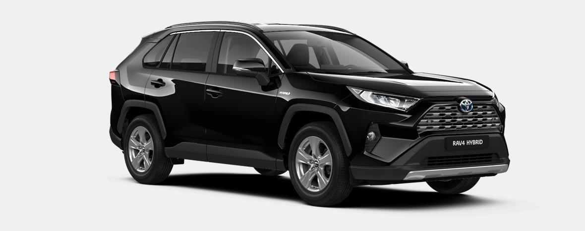 Nieuw Toyota Rav4 5 d. 2.5 Hybrid 2WD e-CVT Dynamic Plus L 218 - BLACK MICA 2