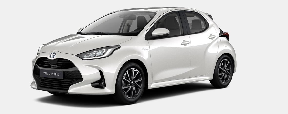 Nieuw Toyota Yaris 5 d. 1.5 VVT-iE 6MT Iconic LHD 089 - WHITE PEARL MC 1