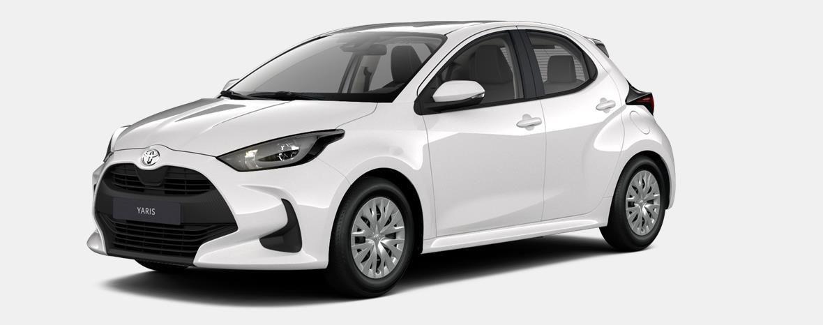 Nieuw Toyota Yaris 5 d. 1.5 Hybrid e-CVT Dynamic LHD 040 - SUPER WHITE II 1