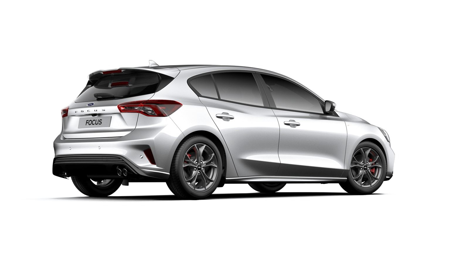 "Nieuw Ford Focus ST-Line X 1.0i EcoBoost 125pk / 92kW A8 - Clipper FCO - ""Moondust Silver"" Metaalkleur 4"
