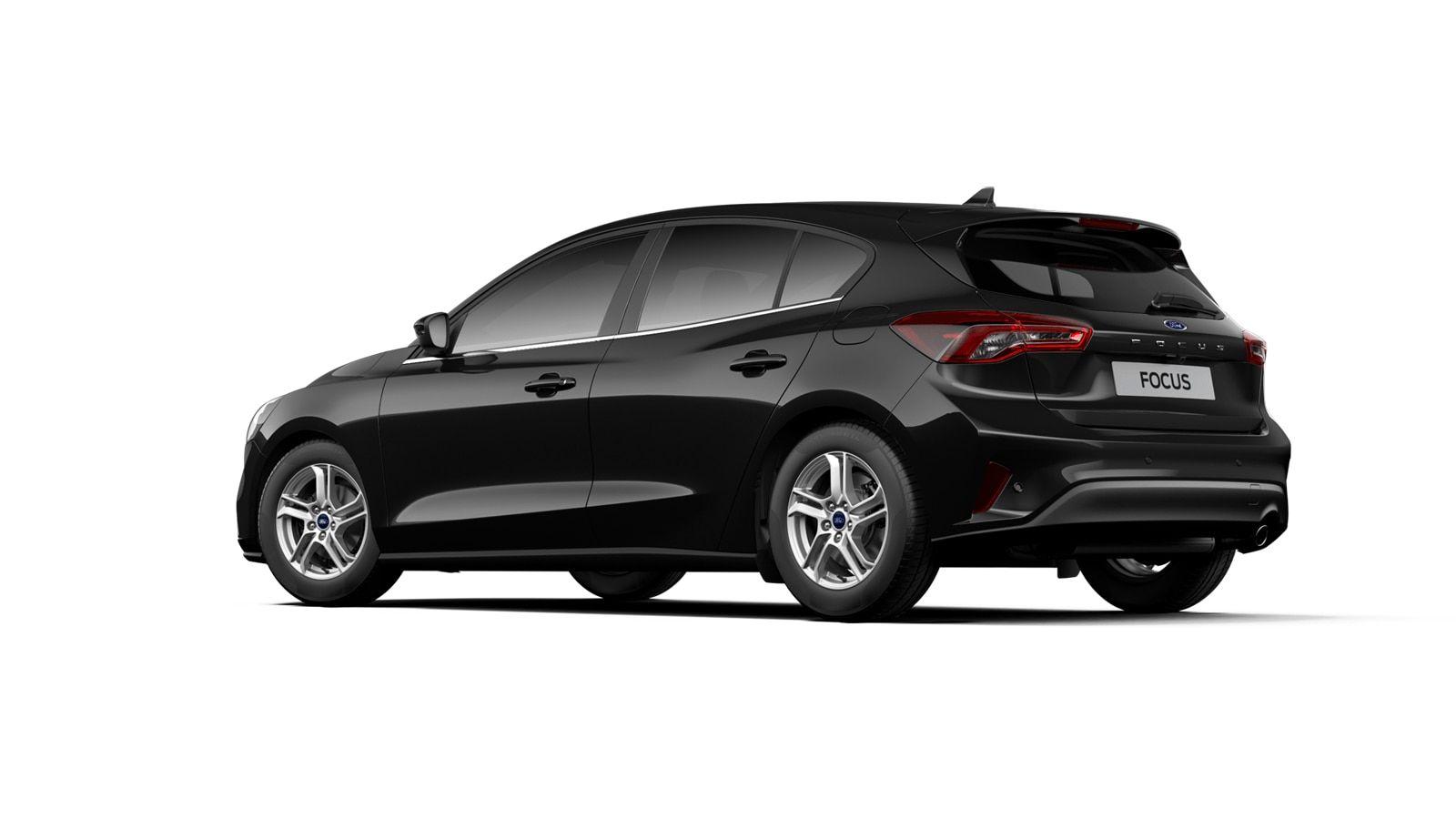 "Nieuw Ford Focus Connected 1.0i EcoBoost 125pk / 92kW mHEV M6 - 5d FCA - ""Agate Black"" Metaalkleur 4"