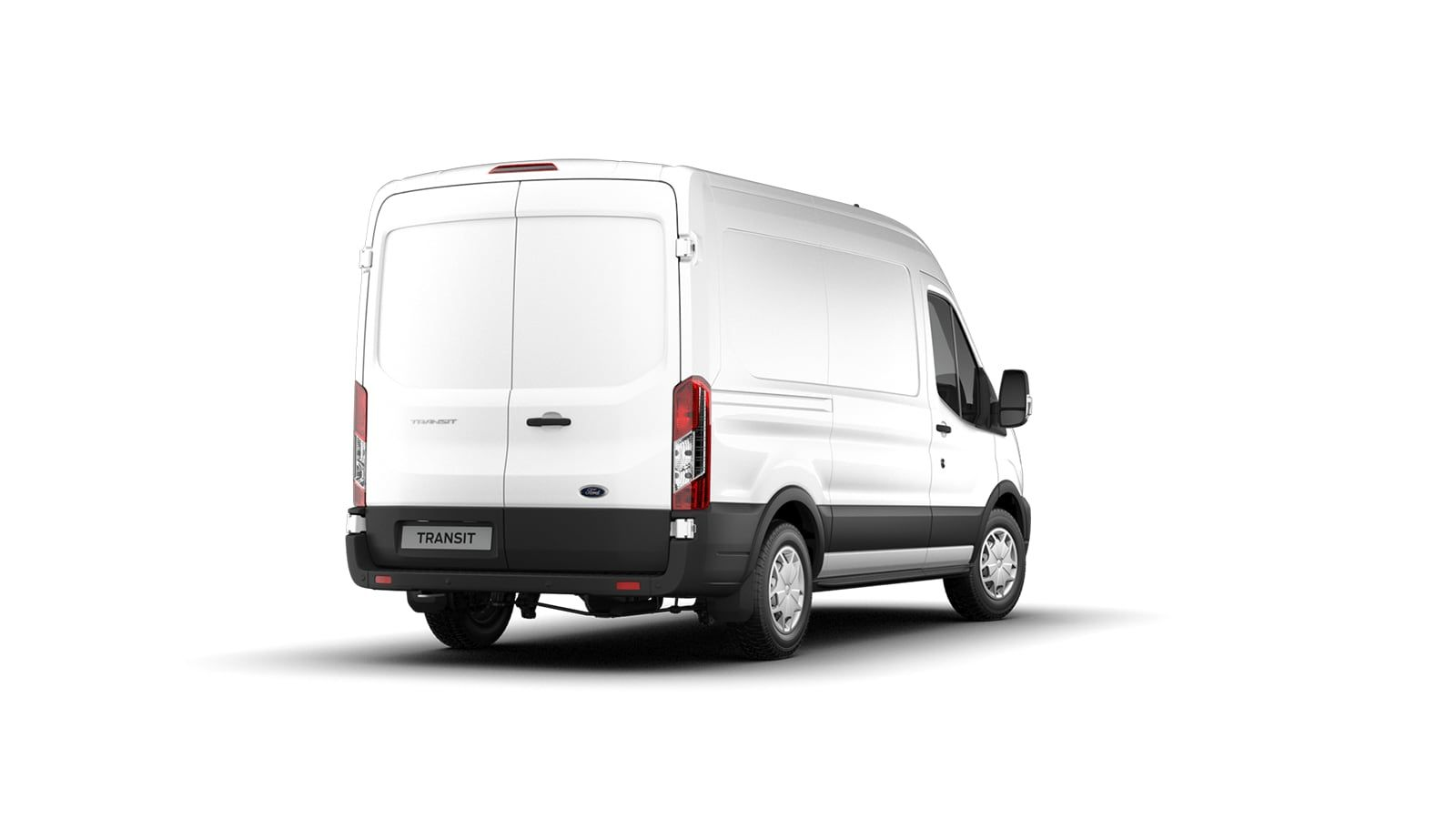 Nieuw Ford Transit 2t mca 350E Chassis enkele cabine L4 Trend/zonder laadbak M6 2.0 TD AXW - niet-metaalkleur: Frozen White 4